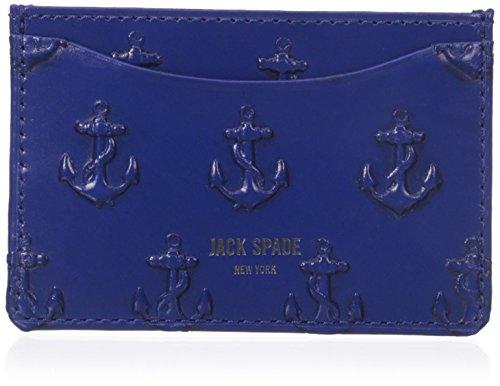 UPC 098689959924, Jack Spade Men's Embossed Anchor Credit Card Holder, Admiral Blue, One Size