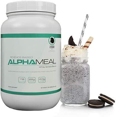 Alpha Meal Grass-Fed Whey Protein Powder