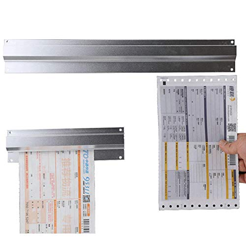 lesgos Tab Grabber, 20 Inch Kitchen Order Bill Holder, Aluminium Wall Mountable Tab Order Grabber Bill Ticket Rack for Catering Food Restaurant Cafes Pubs Bars, - Holder Order Rack