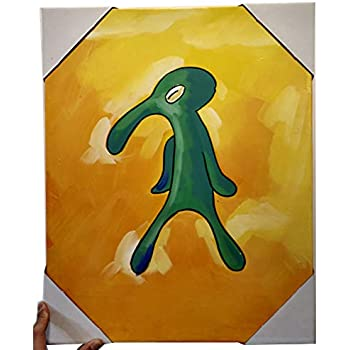 Amazoncom Colla Old Bold And Brash Squidward Art Artic None Frame
