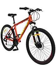 "Spartan 26"" Master Moutain Bicycle - MTB (Orange)"