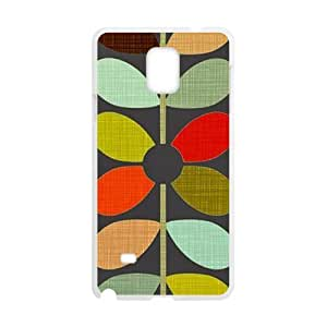 Happy Leaves Design Fashion Comstom Plastic case cover For Samsung Galaxy Note4