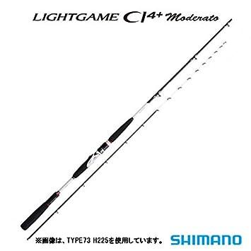 シマノ(SHIMANO)ロッド船竿ライトゲームCI4+モデラートTYPE64M260の画像