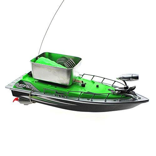 Mmrm mini rc fishing bait boat 200m remote control fish for Remote control fishing boats
