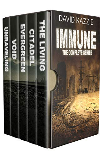 THE IMMUNE - The Complete Post Apocalyptic Survival Series: Books 1 - 5 by [Kazzie, David]