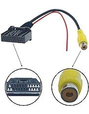 FEELDO Auto Parking tylna kamera wideo wtyczka RCA adapter kabla cofania nawigacja DVD #6121