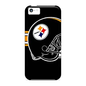 High Quality Shock Absorbing Case For Iphone 5c-pittsburgh Steelers