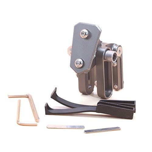 FidgetGear Adjustable Clip On Windshield Extension Spoiler Wind Deflector For Motorcycle