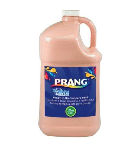 Paint Gallon Peach - Prang Ready-to-Use Washable Tempera Paint, 1 Gallon Bottle, Peach (10611)