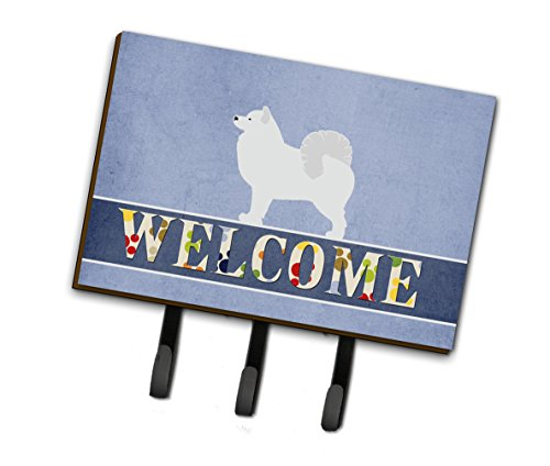 (Caroline's Treasures Samoyed Welcome Wall Hook, Triple)