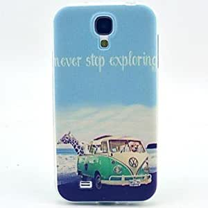 SHOUJIKE Samsung S4 I9500 compatible Graphic/Special Design TPU Back Cover