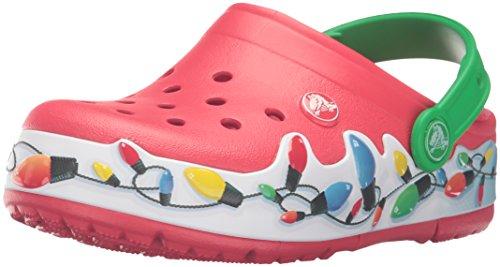 Crocs Lights Holiday Clog (Toddler/Little Kid), Multi, 8 M US Toddler by Crocs