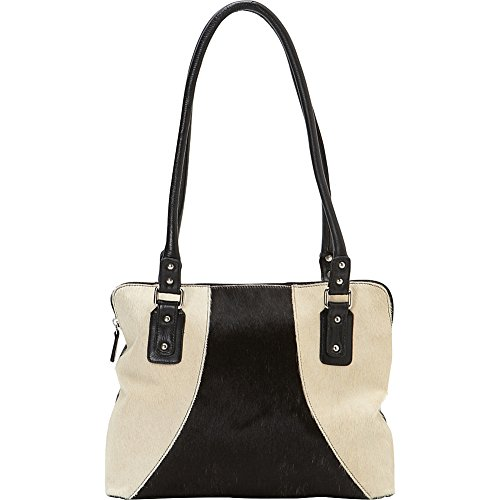 Scully Women's And White Hair-On-Hide Shoulder Bag Animal...