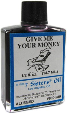 7 Sisters Give Me Your Money Oil 1/2 fl. oz.