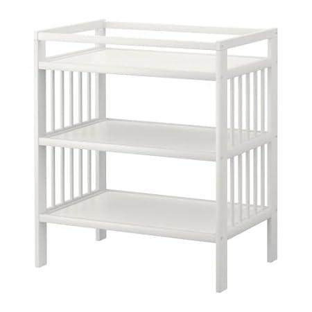 Amazon.com: IKEA GULLIVER – Cambio de mesa, color blanco ...