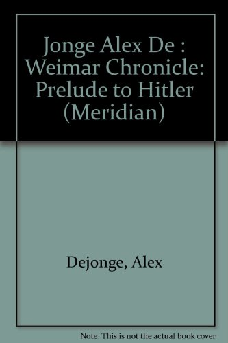 The Weimer Chronicle (Meridian)