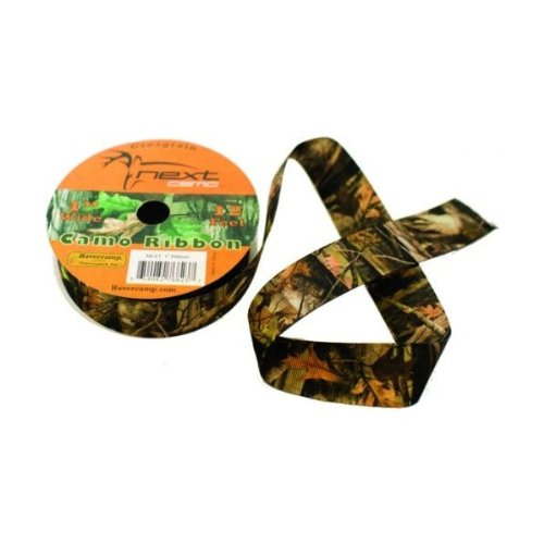 Military Hunting High Definition Camo Grosgrain Fabric Ribbon