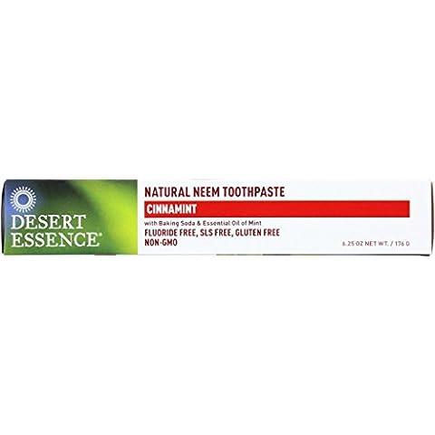 Desert Essence Toothpaste - Neem - Cinnamint - 6.25 oz - 1 each (Dycal Cement)
