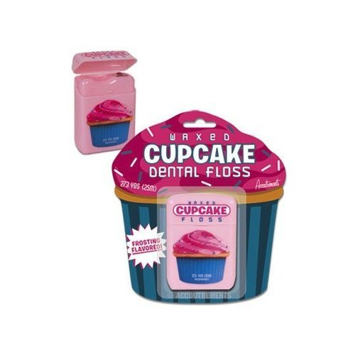 Accoutrements 11927 Floss Cupcake Dental