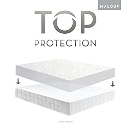 Sleep Tite Hypoallergenic 100% Waterproof Mattress Protector- 15-Year Warranty - Split King