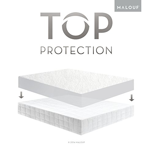 Sleep Tite by Malouf® Hypoallergenic 100% Waterproof Mattress Protector- 15-Year Warranty -...