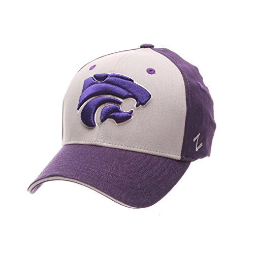 NCAA Kansas State Wildcats Adult Men Challenger Cap, X-Large, Heathered Team Color (Wildcats Cap State)
