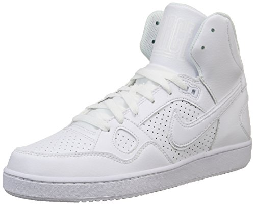 Nike Son Of Force Mid, Herren Hohe Sneakers, Weiß (White/Black 102), 44 EU
