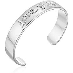 kate spade new york Love Bug Silver-Tone Cuff Bracelet