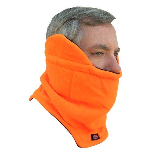 Heat Factory Neck Gaiter with Hand Heat Warmer Pockets, - Blaze Para