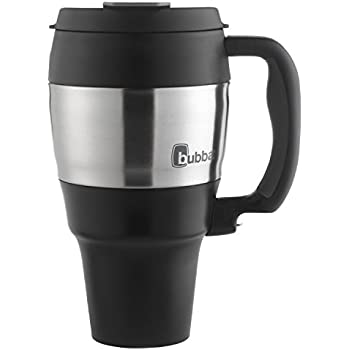 Bubba Classic Foam Insulated Travel Mug with Handle, 34 oz., Black