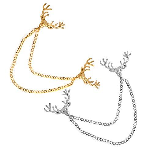 Deer Pin Brooch - 5