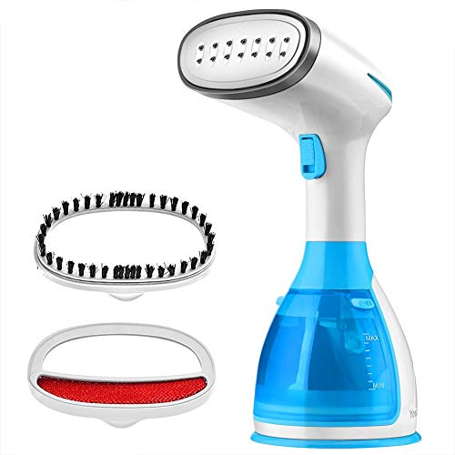 (Steamer for Clothes Ergonomic Handheld Garment Steamers Rapid Heating with 1200W Super Skills 280ml Water Tank Capacity Portable Fabric Steam Iron for Home and Travel, Clean)
