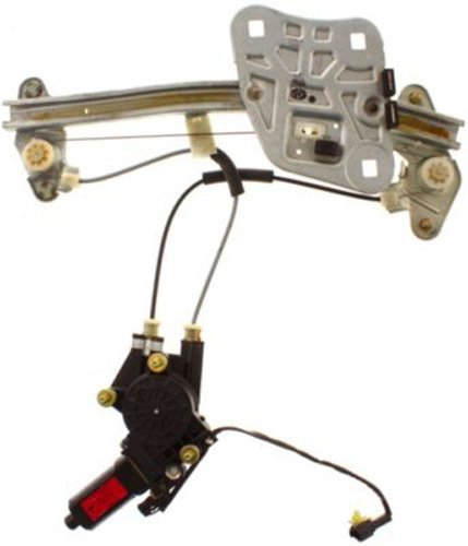Hyundai Xg350 Window Regulator - CPP Rear Passenger Side Power Window Regulator with Motor for Hyundai XG350, XG300