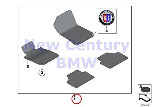 BMW Genuine Floor Mats Velours Set Of Floor - Bmw 650i Floor Mats