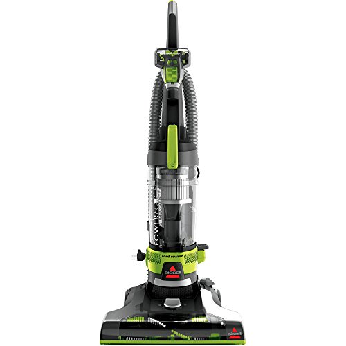 Bissell PowerForce Helix Turbo Rewind Corded Bagless Upright Vacuum with FREE Lysol All Purpose Cleaner, 32 Ounce