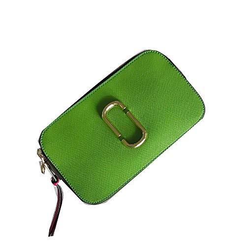 Pu Verde Colore Erba Cbcasignore Borsa Banda Piccolo Quadrato Obliquo A Borsa Larga Con 4w57q5A