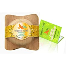 Organic Moringa Virgin Coconut Handmade Herbal Soap. Plant Based Vitmains and Minerals. Mild and Gentle Daily Care. Advanced Herbal Formula. Natural and Chemical Free. All Natural Botanical Care