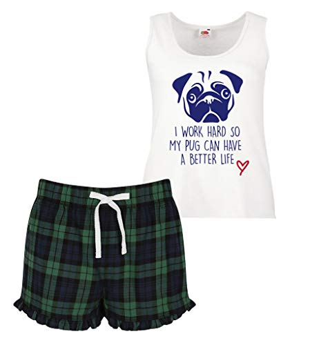 Dur Pyjama Femmes Carlin Better Rouge Have Bleu Second Ensemble So Écossais Makeover Travail Court A Limited Life Can Vert À 60 My Volants I q6wSZxX