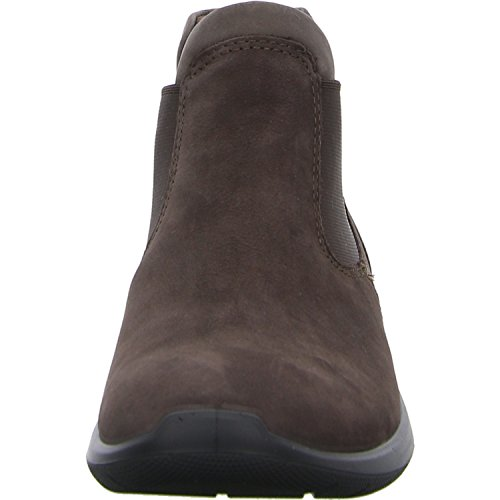 Woman 283103 Elastic Shoes ECCO Boot Marrone 5 Leather Soft Brown Caf Beatles Ankle YqXFFdA8x