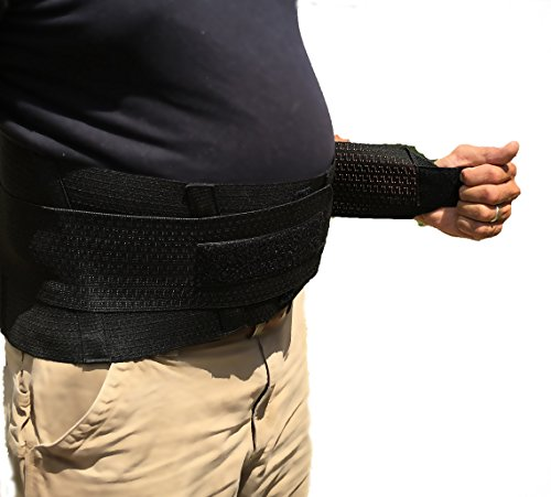 Obesity Support Back and Belly Brace (Size 4 (58