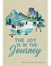 Camping Journal & RV Travel Logbook: Road Trip Caravan Travel, Camping Family Vacation Planner, Camping Notebook & Motorhome Campsite Record Book