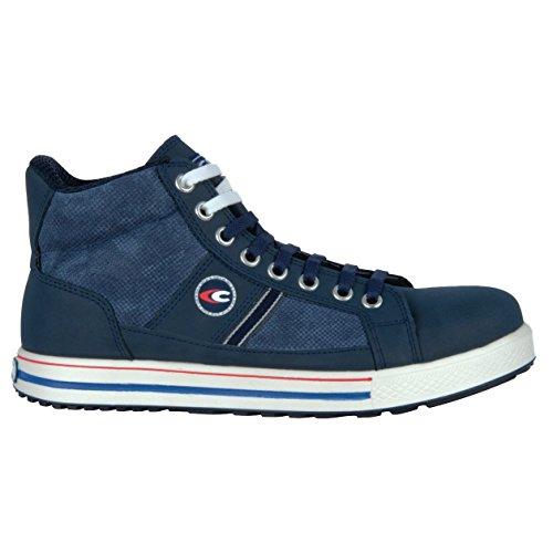 Cofra 35060-002.W38 Pressing S3 SRC Chaussures de sécurité Taille 38 Bleu