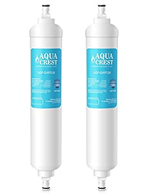 AQUACREST GXRTQR Replacement for GE GXRTQR Refrigerator Water Filter(Pack of 2)