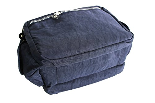 bandolera bandolera de la moda italiana Roncato 46.59.54 Azul