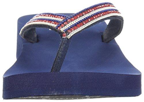 Yellow Box Women's Brelynn Sandal Navy 9YSiKe