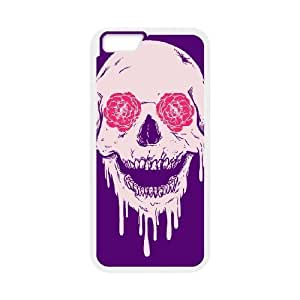 "GGMMXO skull art Phone Case For iPhone 6 Plus (5.5"") [Pattern-1]"