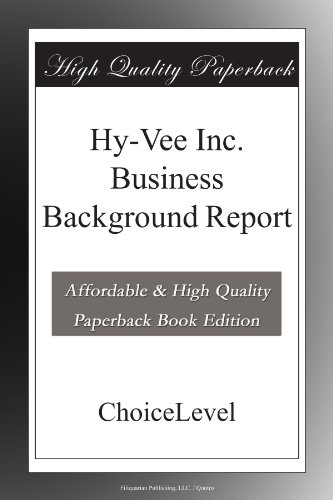 hy-vee-inc-business-background-report