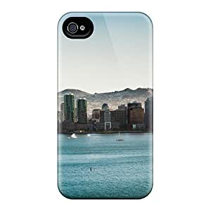 High-quality Durable Protection Case For Iphone 4/4s(bridge Cityscape)