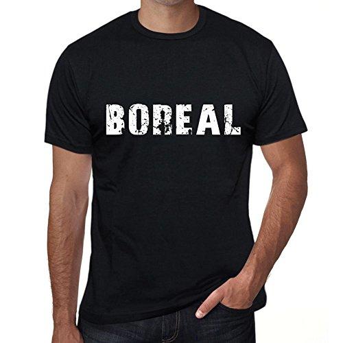 One in the City Boreal Hombre Camiseta Negro Regalo De Cumpleaños 00554