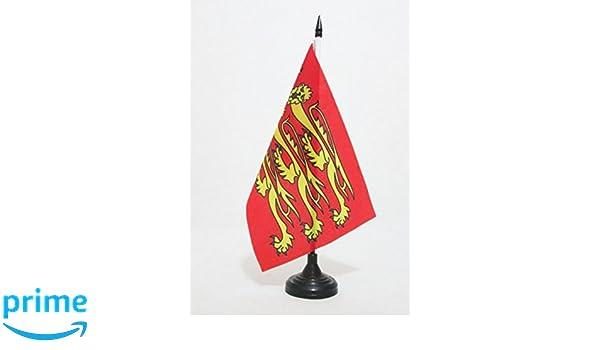 AZ FLAG Bandera de Mesa de Rey Ricardo CORAZÓN DE LEÓN 21x14cm ...
